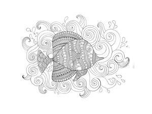 Sea Fish 1 by Neeti Goswami