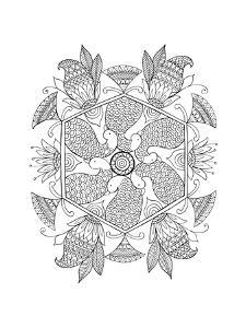 Shape Pattern 1 by Neeti Goswami