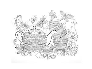 Tea Kettle5 by Neeti Goswami