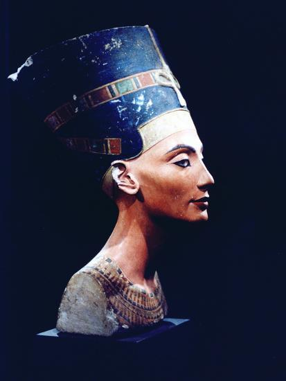 Nefertiti, Egyptian Queen and Consort of Akhenaten, 14th Century Bc  Photographic Print by | Art com