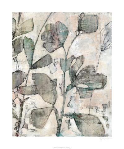 Negative Space Floral II-Jennifer Goldberger-Limited Edition