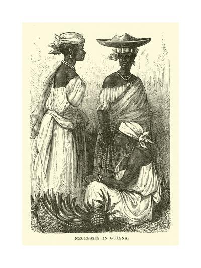 Negresses in Guiana--Giclee Print