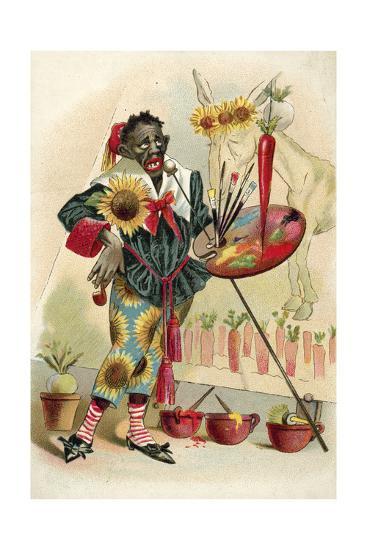 Negro Artist--Giclee Print