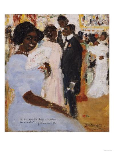 Negro Ball, 1912-Jose Agustin Arrieta-Giclee Print