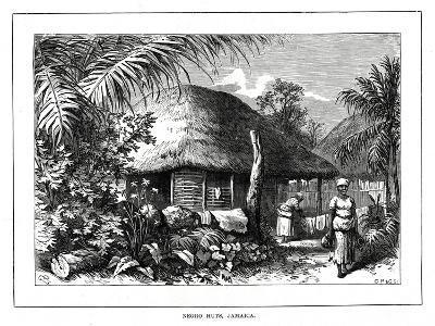 Negro Huts, Jamaica, 19th Century--Giclee Print
