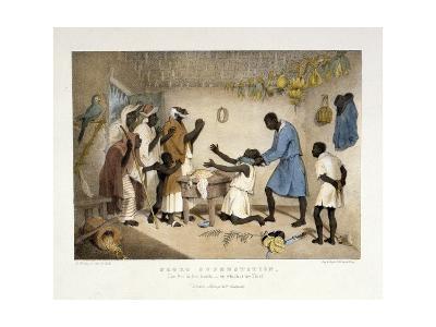 Negro Superstition, Illustration from 'West India Scenery', 1836-Richard Bridgens-Giclee Print