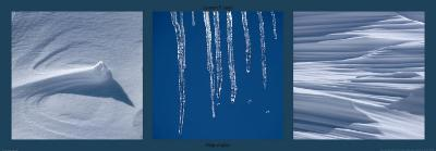 Neige et Glace-Laurent Pinsard-Art Print