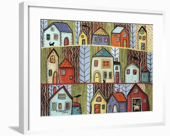 Neighbors-Karla Gerard-Framed Giclee Print
