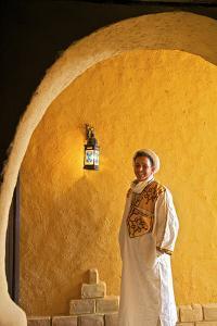 Berber Man in Berber Costume, Merzouga, Morocco, North Africa by Neil Farrin