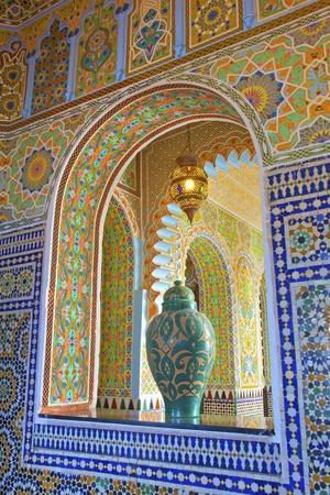 Interior Details of Continental Hotel, Tangier, Morocco, North Africa, Africa