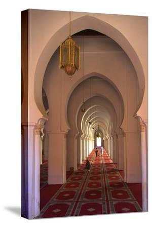 Interior of Koutoubia Mosque, Marrakech, Morocco, North Africa, Africa
