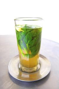 Mint Tea, Tangier, Morocco, North Africa, Africa by Neil Farrin