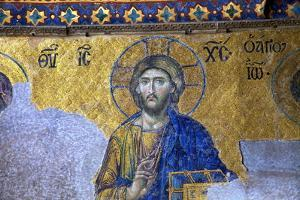 Mosaic of Jesus Christ by Neil Farrin