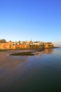 Oudaia Kasbah and Coastline, Rabat, Morocco, North Africa, Africa by Neil Farrin