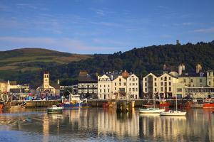 Ramsey Harbour, Ramsey, Isle of Man, Europe by Neil Farrin