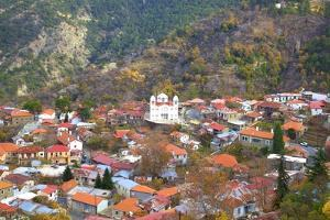 Village of Pedoulas, Troodos Mountains, Cyprus, Eastern Mediterranean, Europe by Neil Farrin