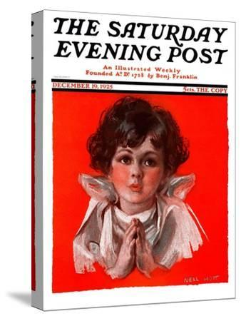 """""""Little Angel,"""" Saturday Evening Post Cover, December 19, 1925"""