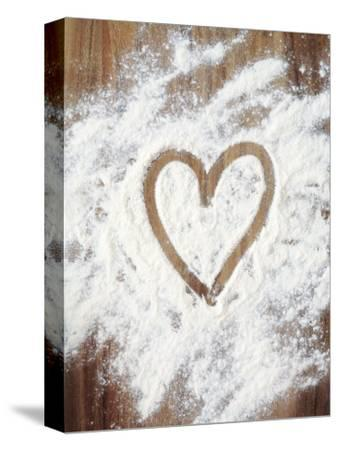 Heart Shape in Flour