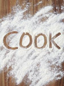 Word Cook in Flour by Neil Overy