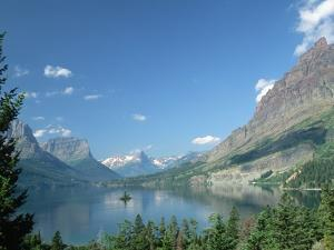 Lake Below Glaciated Peaks by Neil Rabinowitz