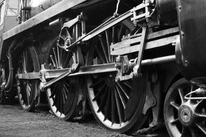 Steam Train Wheels by neillang