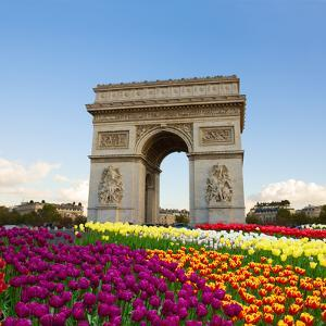 Arc De Triomphe, Paris, France by neirfy