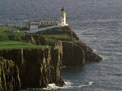 Neist Point Lighthouse, Isle of Skye, Scotland-Gavriel Jecan-Photographic Print