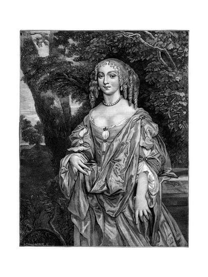 Nell Gwynn, 17th Century-Peter Lely-Giclee Print