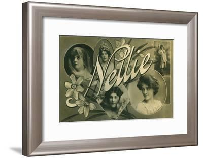Nellie, Postcard of Edwardian Actress Nellie Stewart--Framed Giclee Print