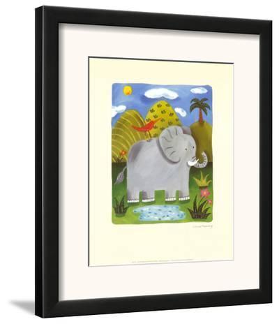 Nellie the Elephant-Sophie Harding-Framed Art Print