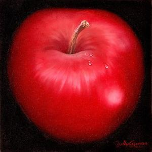 Red Apple by Nelly Arenas