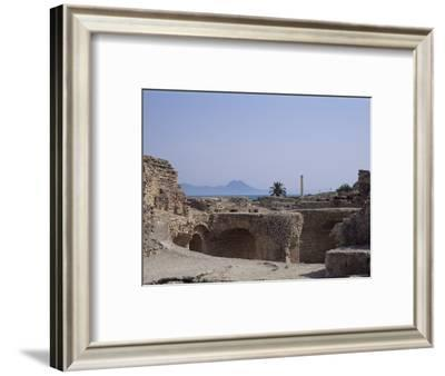 Antonine Baths, Carthage, Unesco World Heritage Site, Tunisia, North Africa, Africa