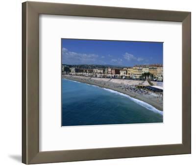 Beach, Baie Des Anges, Nice, Cote D'Azur, Provence, France, Mediterranean, Europe