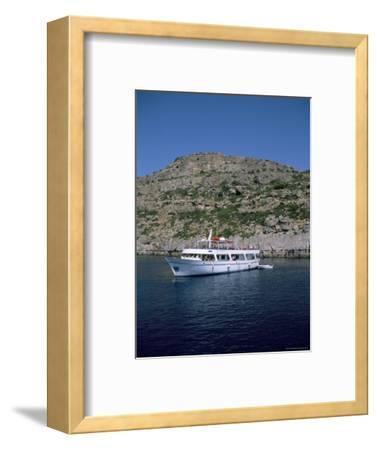 Boat Trippers, East Coast, Anthony Quinn's Bay, Rhodes, Greek Islands, Greece