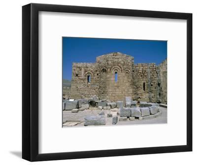 Byzantine Church of St. Paul, Acropolis, Lindos, Rhodes, Greek Islands, Greece