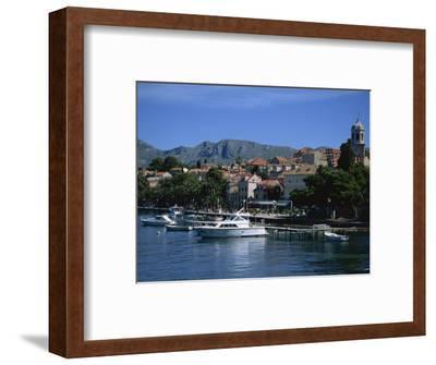 Cavtat Harbour, Dalmatia, Croatia, Europe