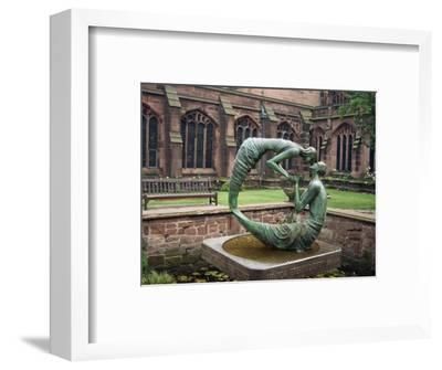 Cloister Garden, Chester Cathedral, Cheshire, England, United Kingdom, Europe