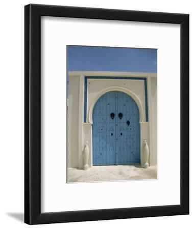 Detail of Door, Carthage, Tunisia, North Africa, Africa