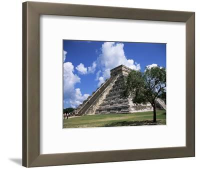 El Castillo Pyramid at Chichen Itza, Unesco World Heritage Site, Yucatan, Mexico, North America