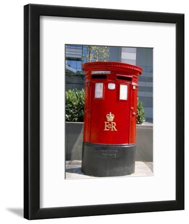 Red Post Box, London, England, United Kingdom
