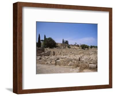 Remains of Roman Villas, Carthage, Unesco World Heritage Site, Tunisia, North Africa, Africa