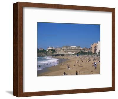 The Beach, Biarritz, Aquitaine, France
