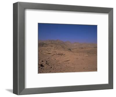 Valley of the Gazelles on the Road to St. Catherine's Monastery, Sinai Desert, Egypt