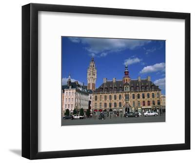 Vielle Bourse on the Grand Place in the City of Lille in Nord Pas De Calais, France, Europe