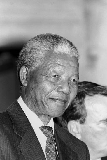 Nelson Mandela-Vandell Cobb-Photographic Print