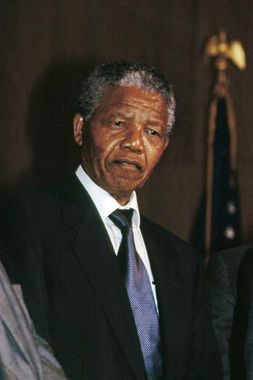 Nelson Mandela-Fred Watkins-Photographic Print
