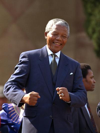 Nelson Mandela-John Parkin-Photographic Print