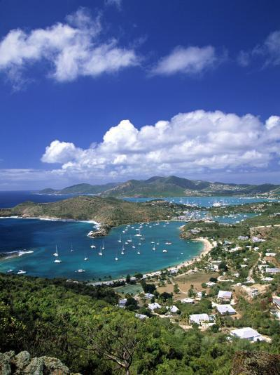 Nelson's Dockyard, Antigua, Caribbean-Walter Bibikow-Photographic Print