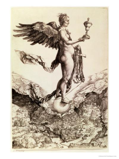 Nemesis, 1501-2-Albrecht D?rer-Giclee Print