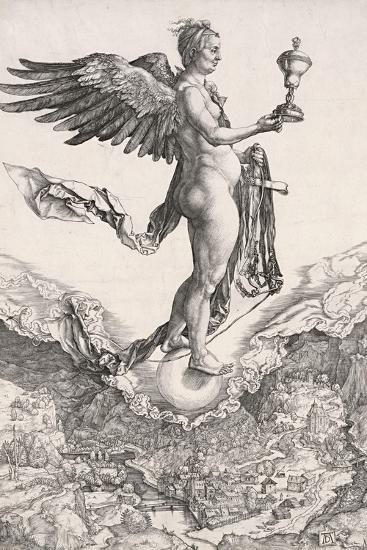 Nemesis-Albrecht D?rer-Giclee Print